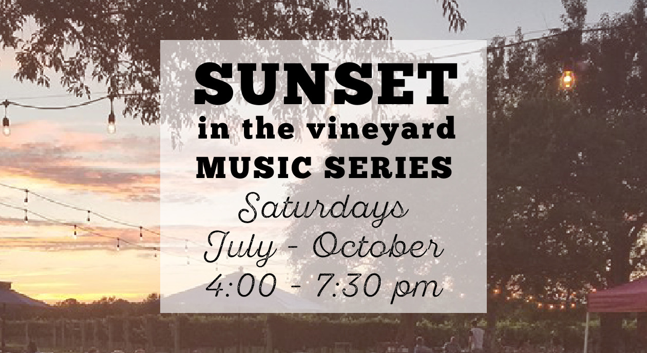 Sunset in the Vineyard